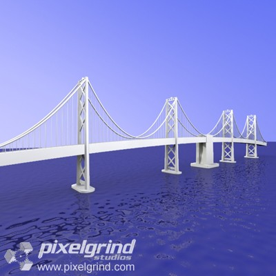 Bay Bridge 3D 01 Main Image