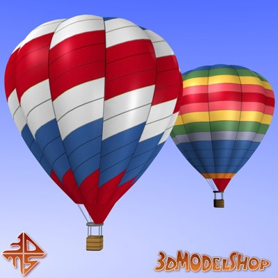 Hot Air Balloons 3D Main Image