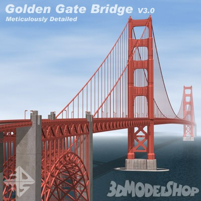 Golden Gate Bridge V3.0 Deluxe Main Image