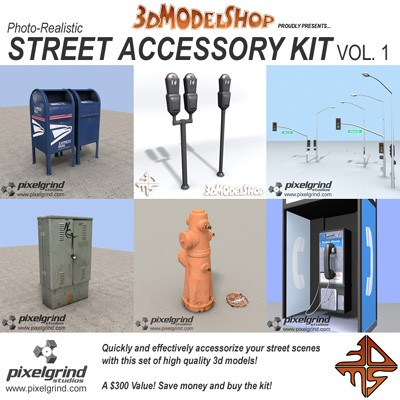 Street Accessory Kit - Vol.1 Main Image
