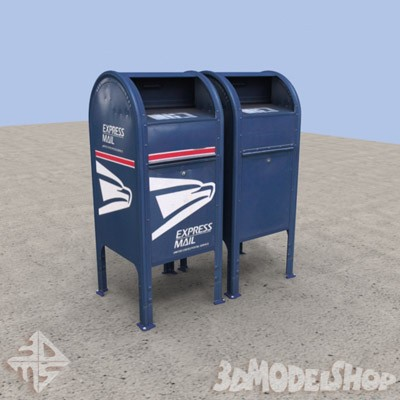 3D Mailboxes - US Main Image