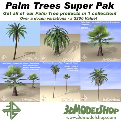 Palm Trees Super Pak Main Image