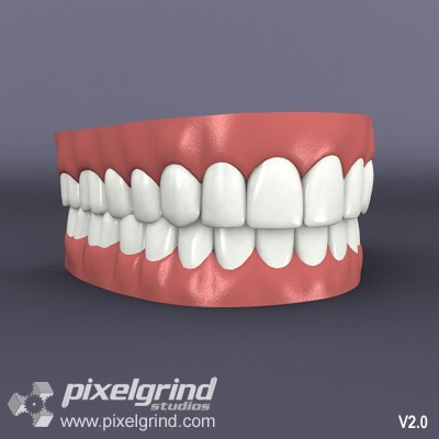 3D Teeth v02 Main Image