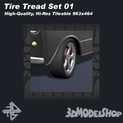 Tire Treads Set 01 Main Image